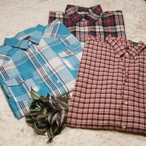 3 Size XXL Long Sleeve Shirts